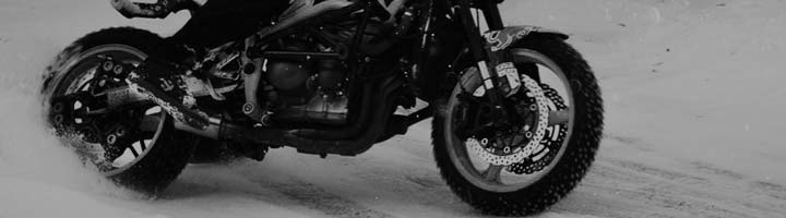 Motorsykkel (Is/Snø)